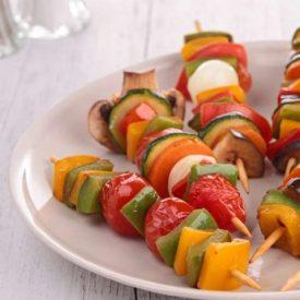 Spiedini alle verdure