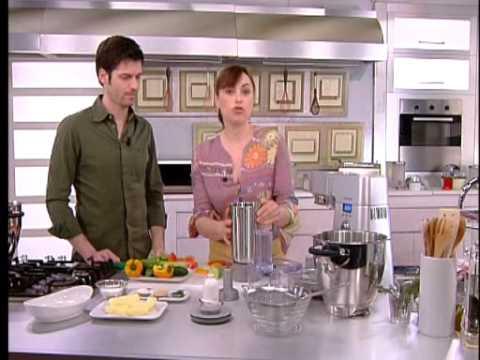 Crema alle verdure con vongole