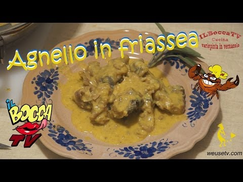 Agnello in fricassea