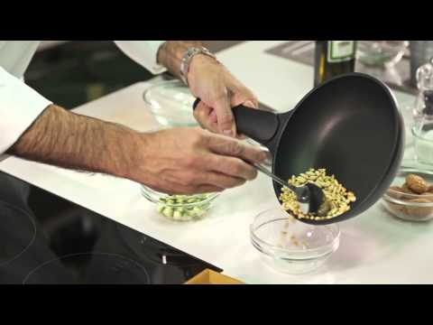 Zucchina frangipane con pinoli, uvetta ed amaretti