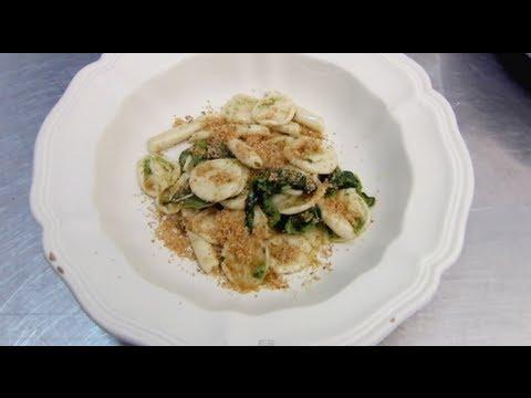 Ricette Cucina Pugliese: Orecchiette con cime di rapa