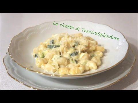 Pasta fresca con zucchine e Philadelphia