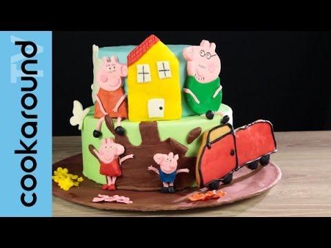 Decorazioni per torte: Peppa Pig e i suoi amici!