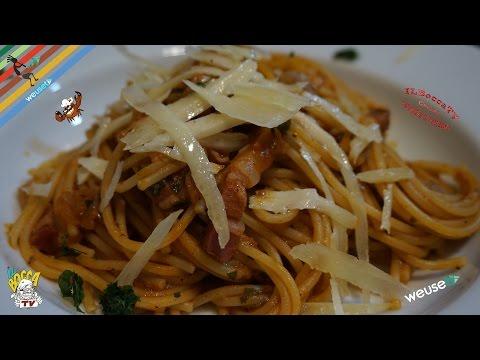 Spaghetti alici e pancetta..e ti passa anche la fretta!
