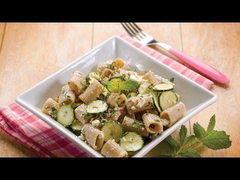 Pasta alla ricotta con zucchine