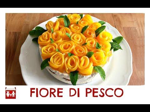 Cheesecake FIORE DI PESCO, leggera , bellissima e BUONISSIMA! (dolci) 2C+K