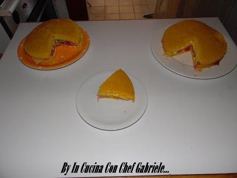 In Cucina Con Chef Gabriele: PAN di SPAGNA SALATO