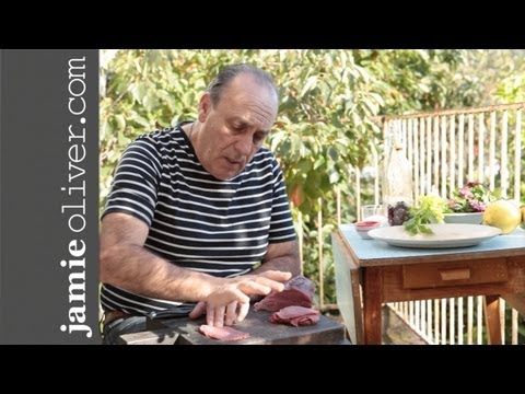 "Come fare il ""Beef Carpaccio with"" Gennaro Contaldo"