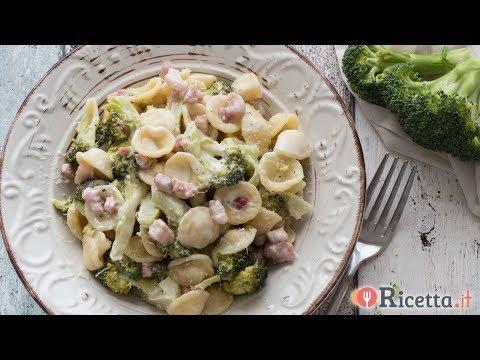 Orecchiette ai broccoli e pancetta